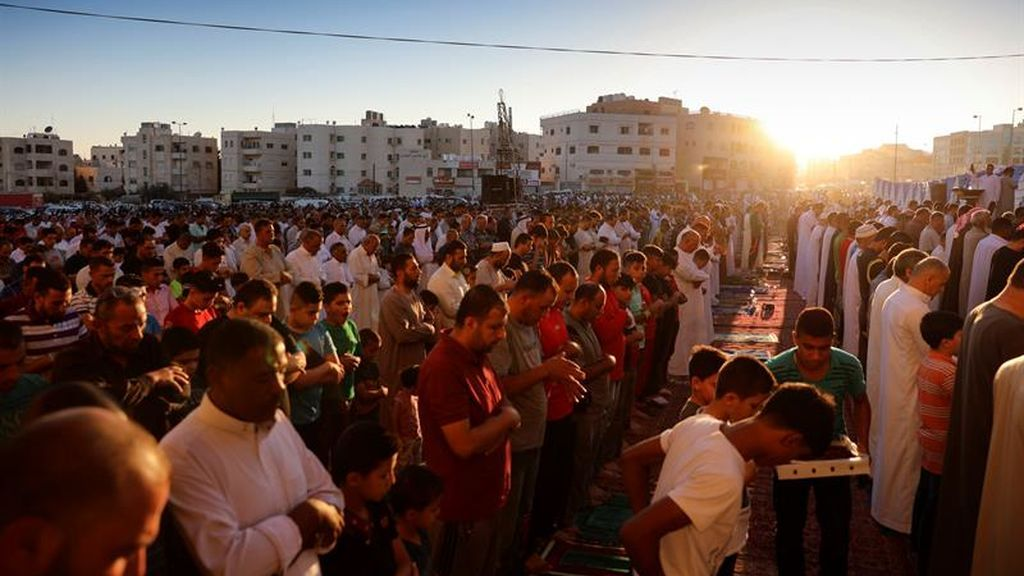 Momento de rezo en Jordania