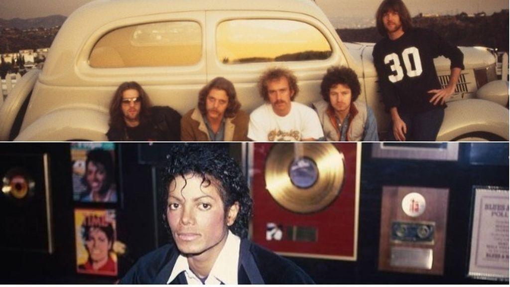 Eagles y Michael Jackson