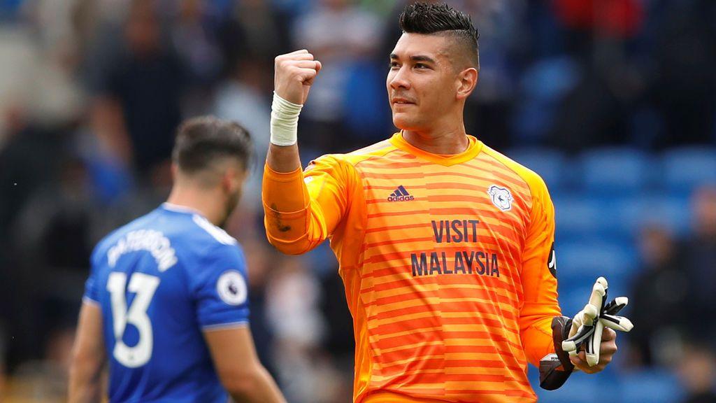 Un portero de la Premier League se deja a sí mismo en el banquillo del 'Fantasy' y acaba siendo el mejor de la jornada