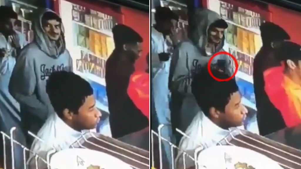 El tuit de la Policía de Bombay:  El ladrón pillado 'in fraganti' devuelve su botín a la víctima