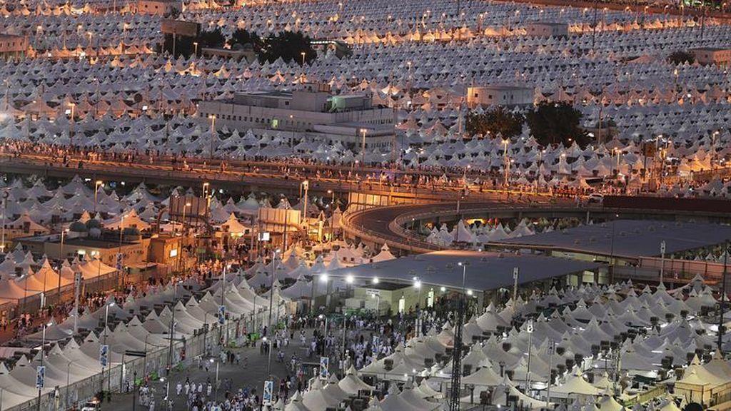 Campamento de peregrinación a  La Meca