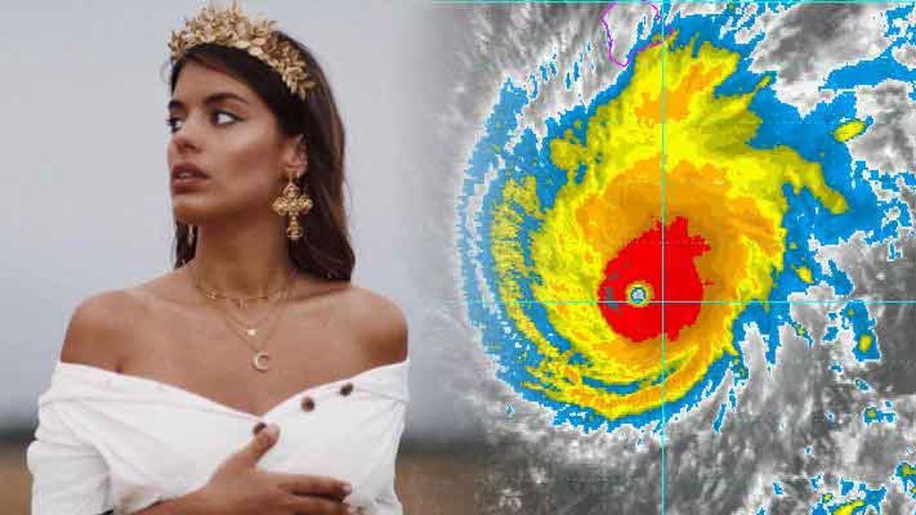 """Lane, el huracán de categoría 5 pilla a Dulceida en Hawái: """"Estoy un poco asustada"""""""
