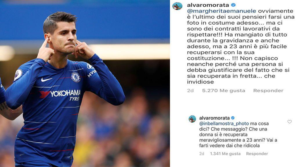 """Morata sale en defensa de Alice Campello: """"¡Qué envidiosa, que ridícula, háztelo mirar!"""""""