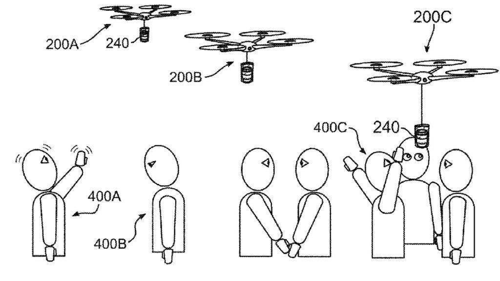Drones que te traen café cuando estás cansado en el trabajo, la última patente de IBM