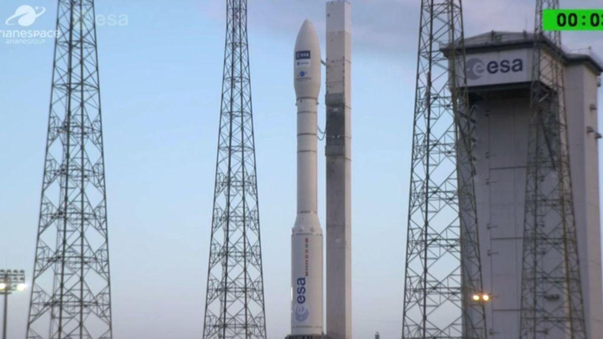 La Agencia Espacial Europea lanza el satélite  Aeolus,  que medirá el viento desde el espacio