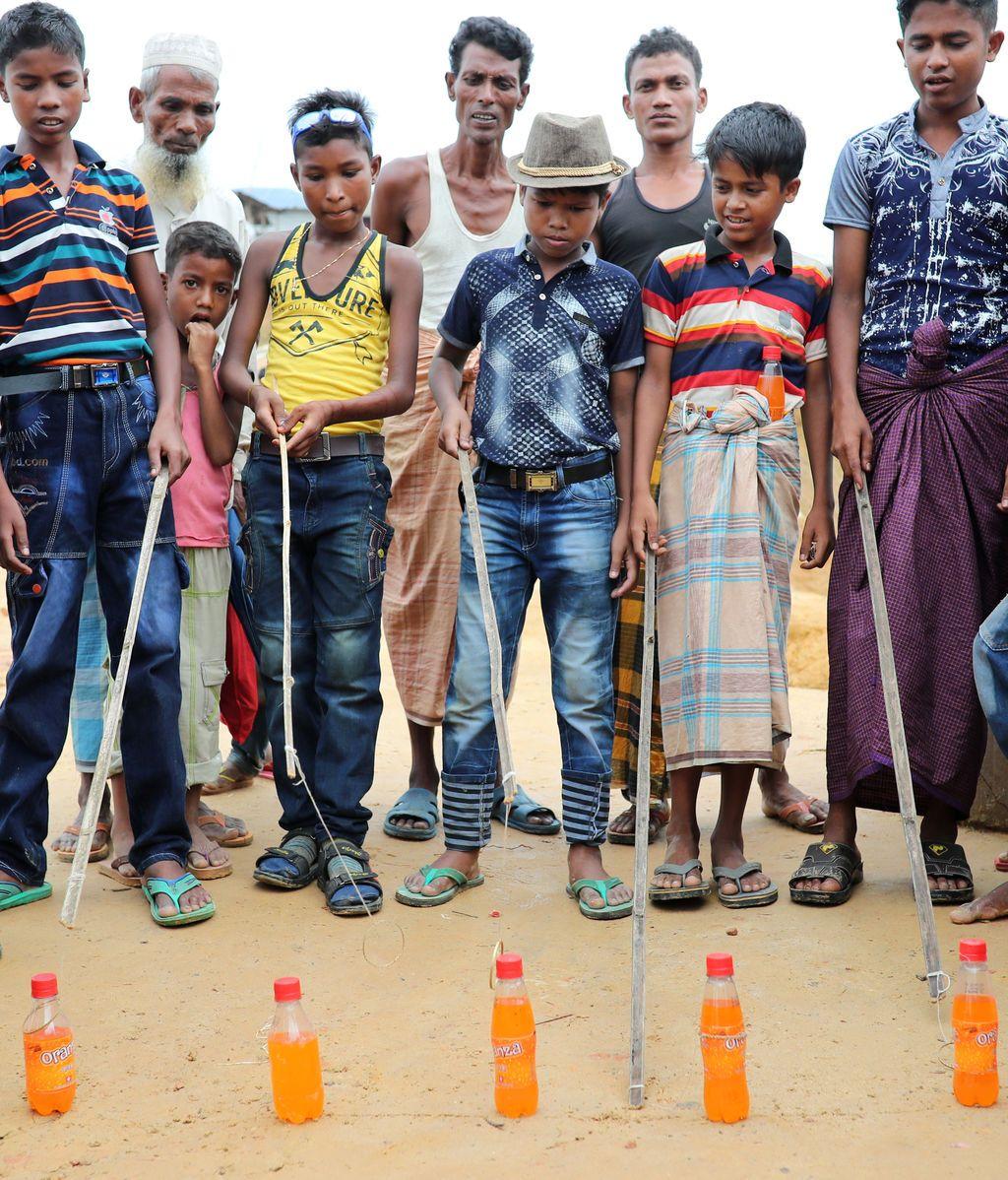 Campo de refugiados Rohingya