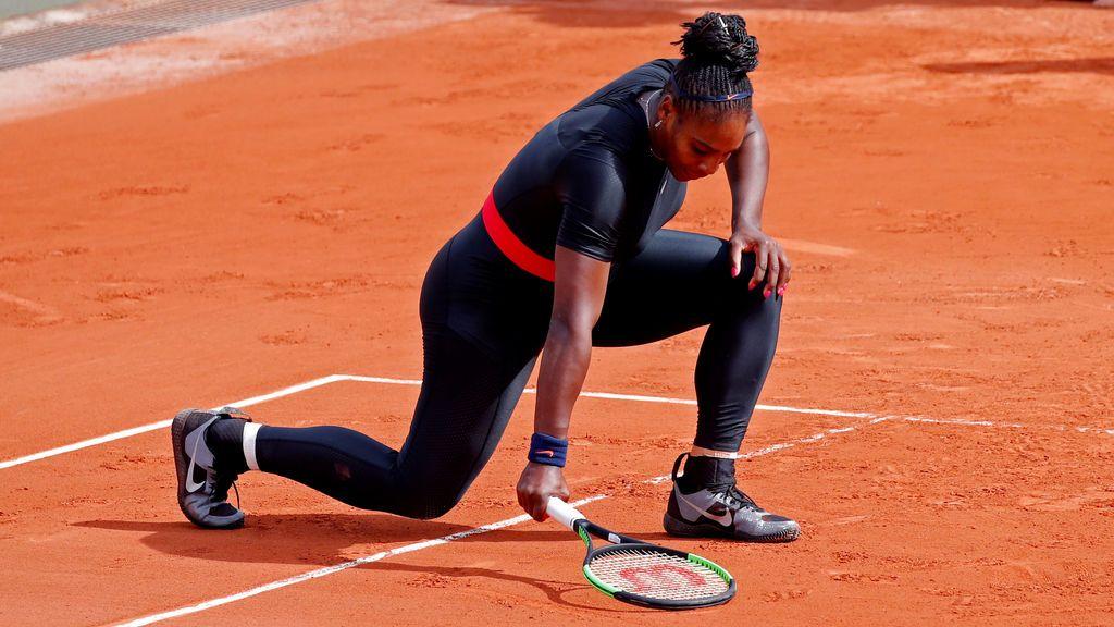 La ropa de Serena Williams fue vetada en Roland Garros