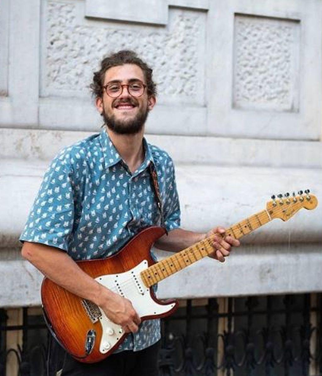 Borja Catanesi, el mejor músico callejero