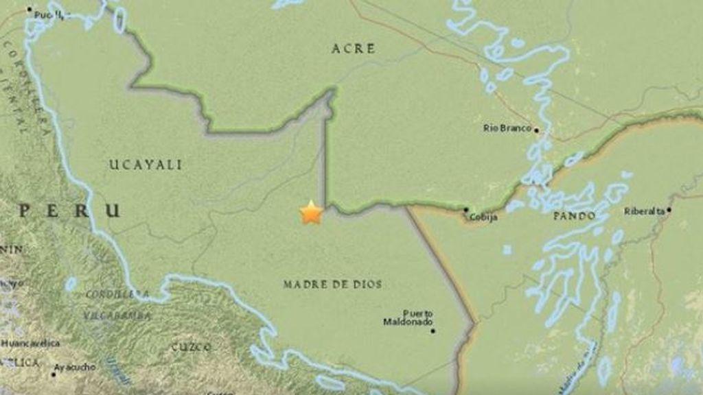Un seísmo de magnitud 7,1 sacude el norte de Perú