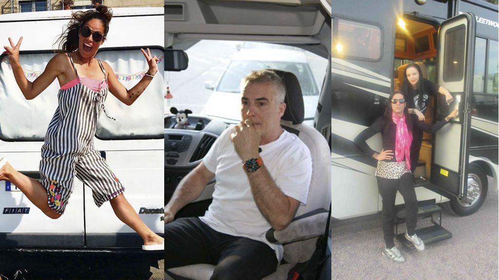 No sin mi furgo: los VIPs pasan de los hoteles de lujo y se apuntan al turismo de autocaravana