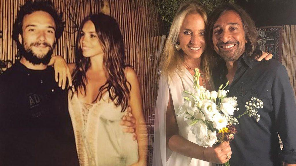 las bodas de plata de Antonio Carmona y Mariola Orellana