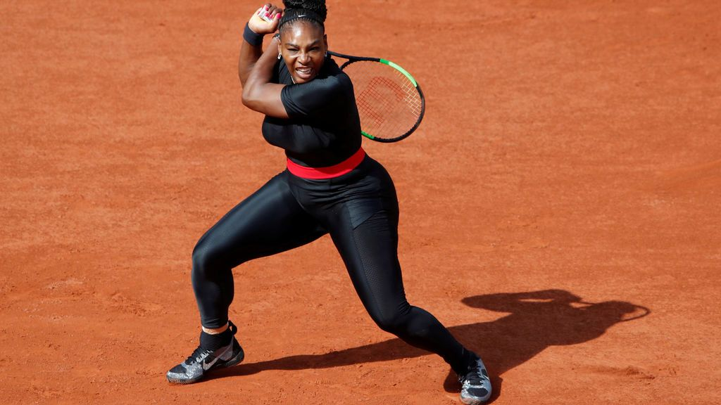Roland Garros prohibirá a Serena Williams vestir su 'Black Panther' en 2019