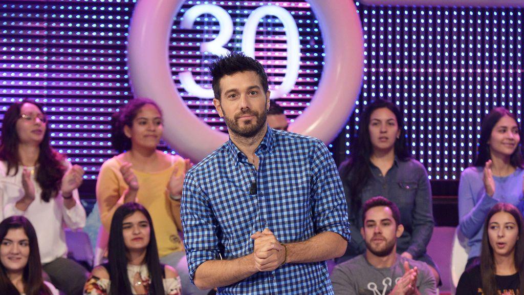 Dani Martínez, presentador de 'El concurso del año' (Cuatro).