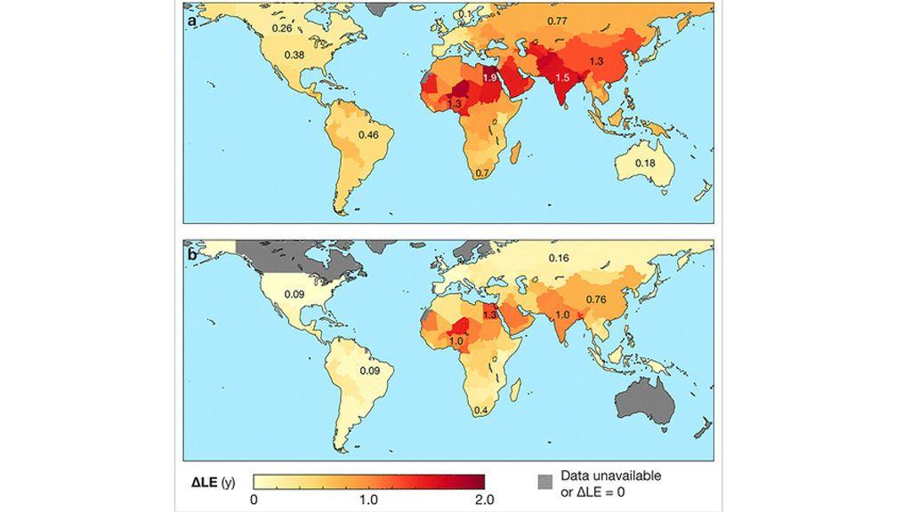 La contaminación atmosférica, un asesino global