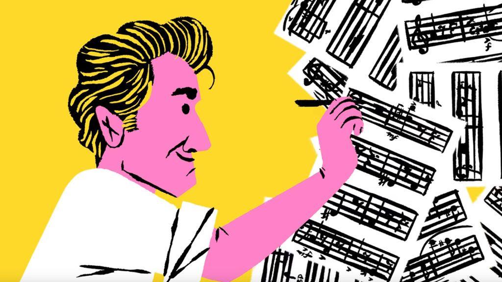 Un doodle rinde homenaje al centenario del nacimiento de Leonard Bernstein