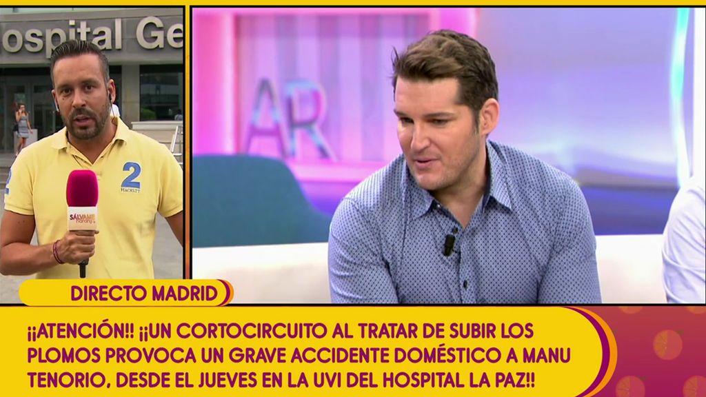 Manu Tenorio podría salir del hospital esta semana