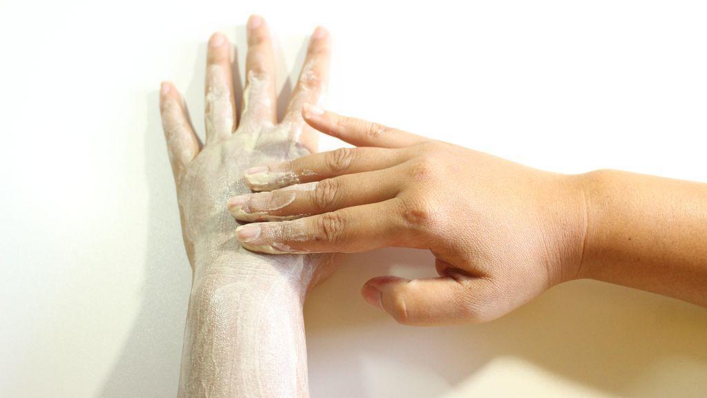 exfoliar piel