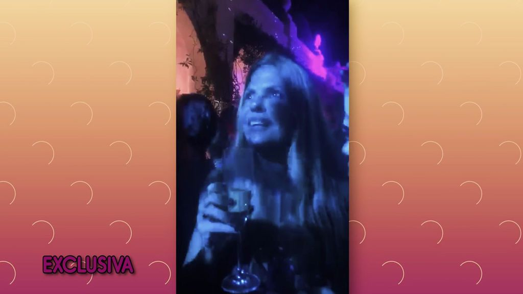 Así está siendo el verano de Makoke: de fiesta en una discoteca de Marbella