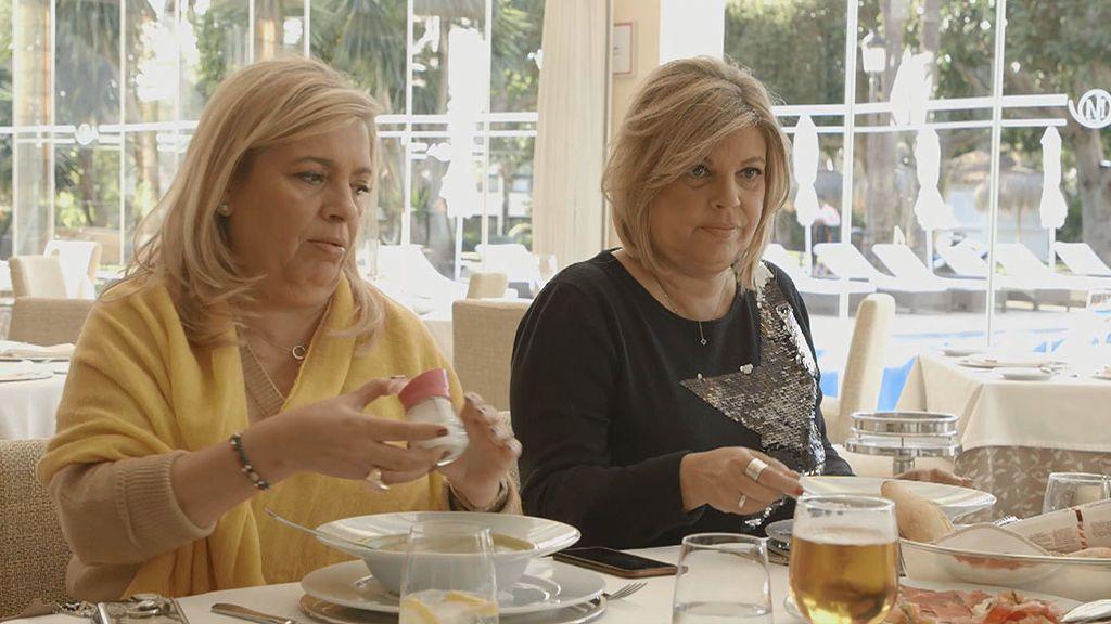 Terelu y Carmen comienzan su dieta detox con la dignidad que su hambre les permite