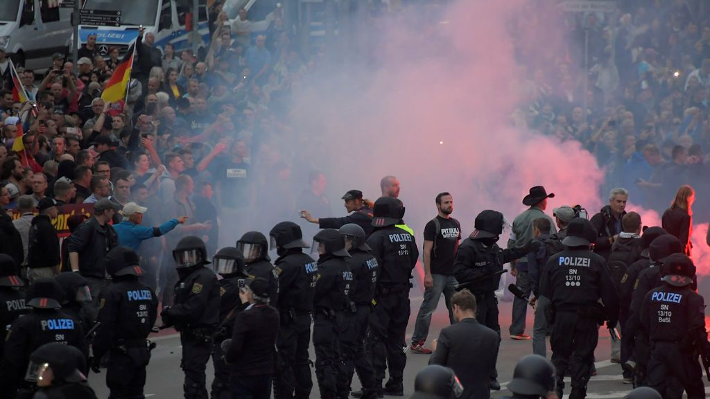 Los neonazis toman las calles de Alemania