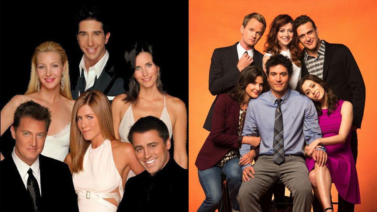 La mejor comedia de la historia: 'Friends' o 'Cómo conocí a vuestra madre'