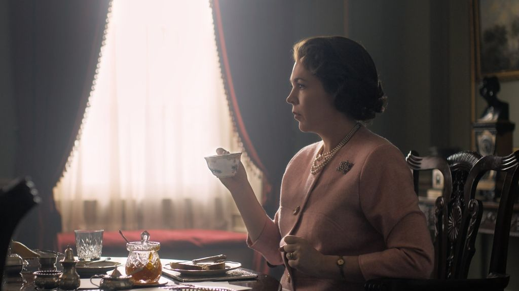 Olivia Coleman en 'The crown'