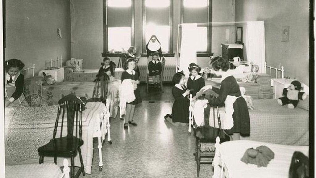 Imagen del orfanato Saint Joseph, en Vermont