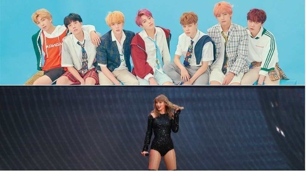 BTS y Taylos Swift