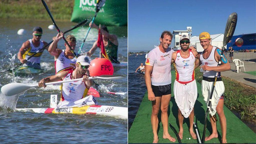 La honestidad de Eivind Vold: el palista noruego reconoce que se saltó la boya y felicita a Javier Hernanz por la medalla de bronce