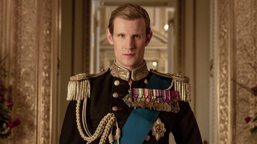 Matt Smith en 'The crown'.