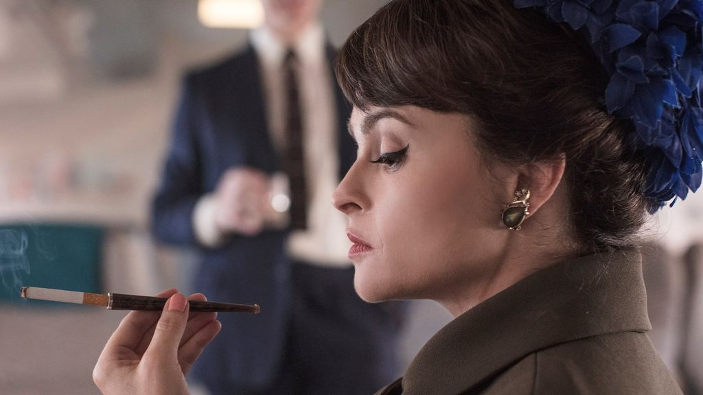 Helena Bonham Carter en 'The crown'.