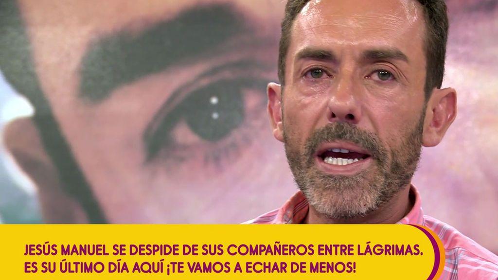 """Jesús Manuel se va definitivamente de Sálvame: """"No puedo compaginarlo con mis estudios"""""""