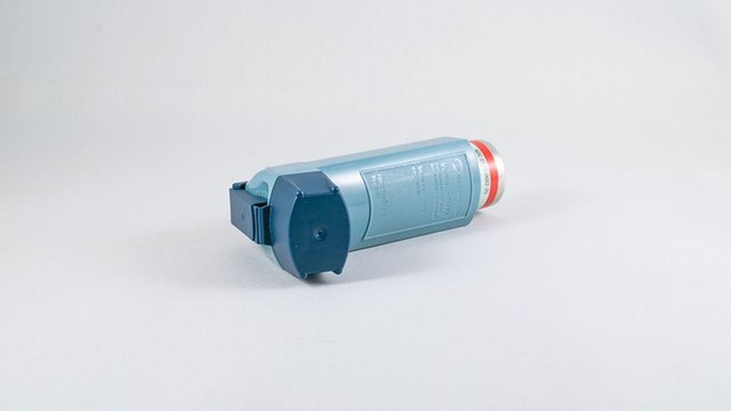 Inhalador para el asma