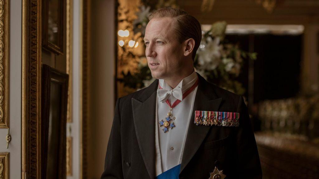 Primera imagen de Tobias Menzies como el príncipe Felipe de Edimburgo, en la tercera temporada de 'The crown'.