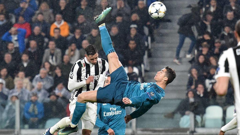 El Real Madrid presume del gol de Cristiano a la Juventus en Champions y los cita en redes