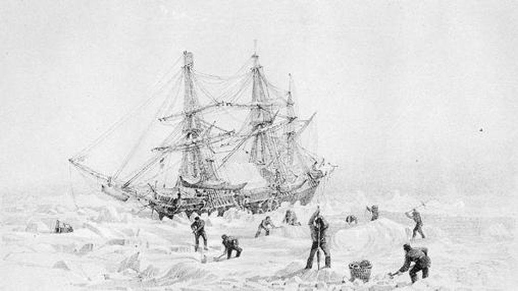 El HMS Terror, una expedición perdida en el ártico, no murió por envenenamiento