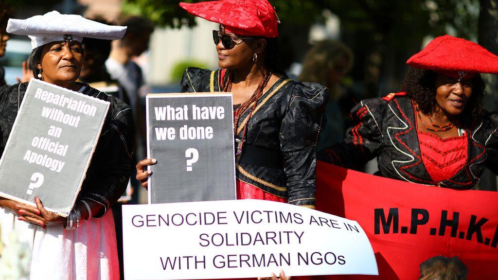"""""""¿Qué hemos hecho?"""": las protestas en Berlín por el genocidio herero y namaqua"""