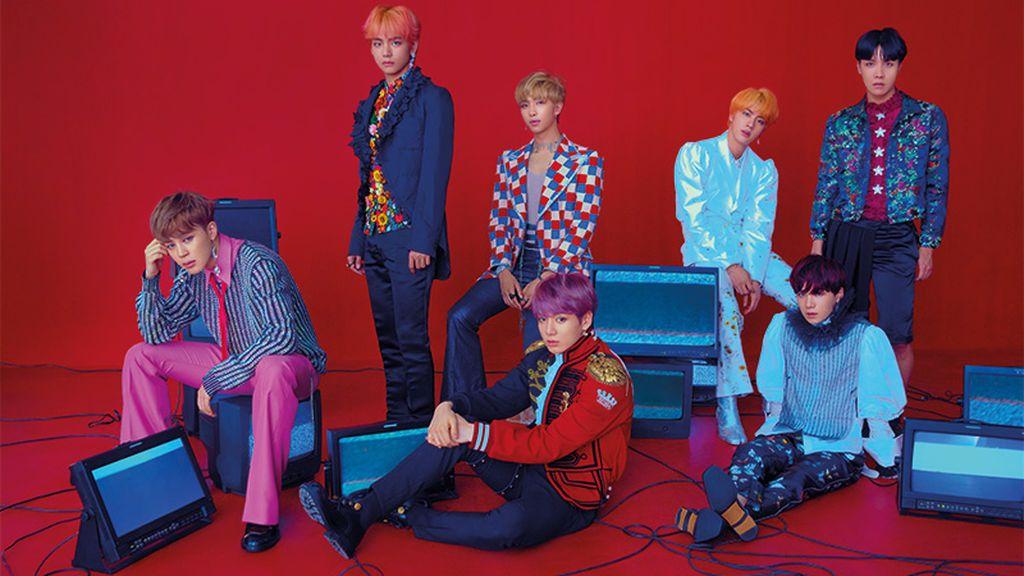 La banda surcoreana BTS