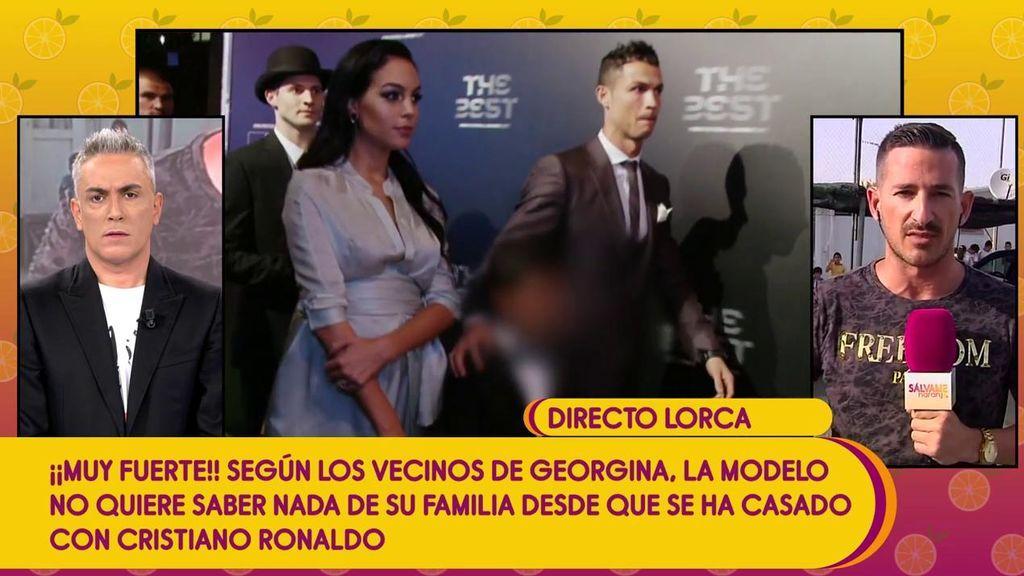 El padre de Georgina ingresado tras un derrame cerebral en Argentina