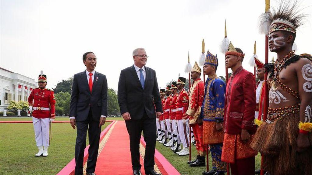 Primer viaje internacional del ministro Morrison