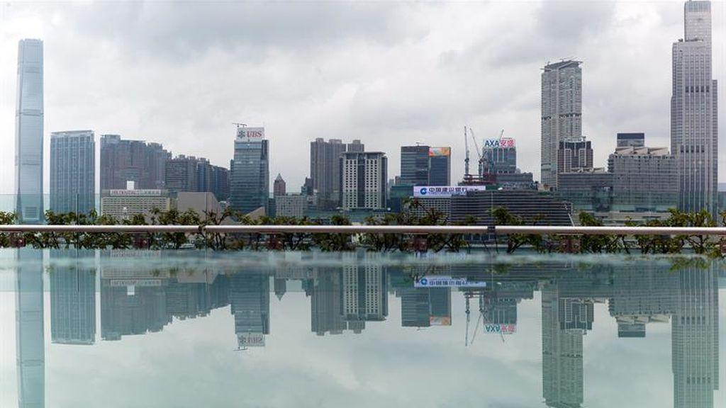Reflejo de Hong Kong