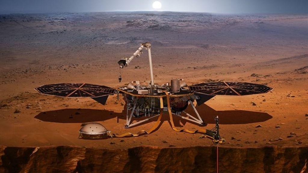 La sonda espacial  InSight completa la mitad de su camino hasta Marte