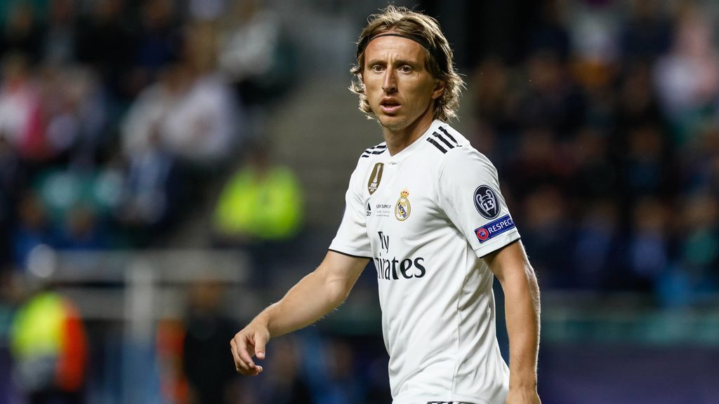 """Luka Modriz zanja la polémica: """"No me he visto fuera del Real Madrid, soy muy feliz aquí"""""""