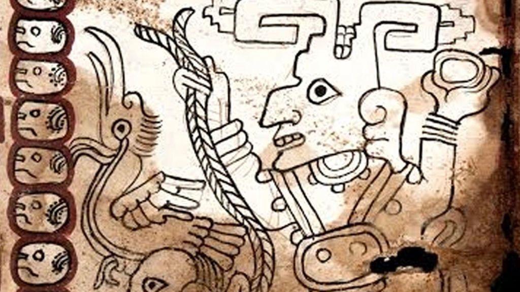 Desvelan claves del Códice Maya de Mexico, el manuscrito auténtico más antiguo de América