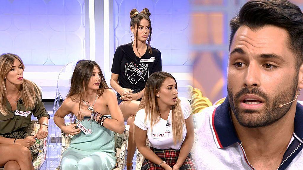 La que ha liado Eleazar al contestar a esta pregunta: ¿Quién te gusta más Zaida o Silvia? (Su respuesta: Zaida)