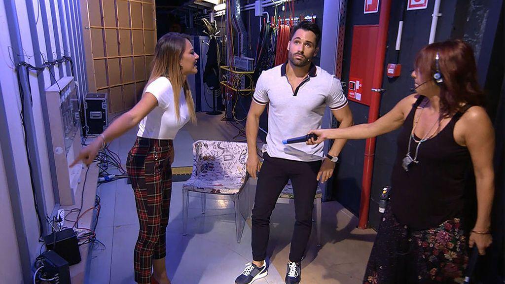 Eleazar y Silvia acaban a gritos porque le gusta más Zaida: su discusión más fuerte