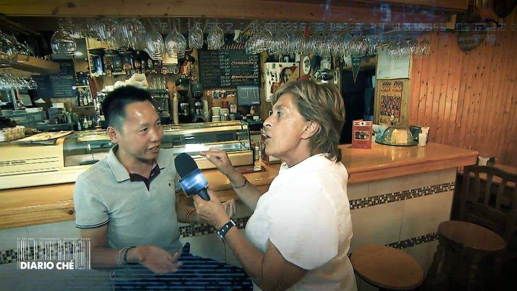 Diario Ché: Chelo Gª Cortés manda callar al famoso chino franquista de El Escorial