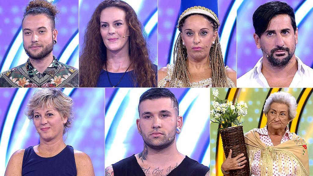 Los concursantes han tenido muchas dudas pero tú… ¿Qué edad les echas a estos desconocidos?