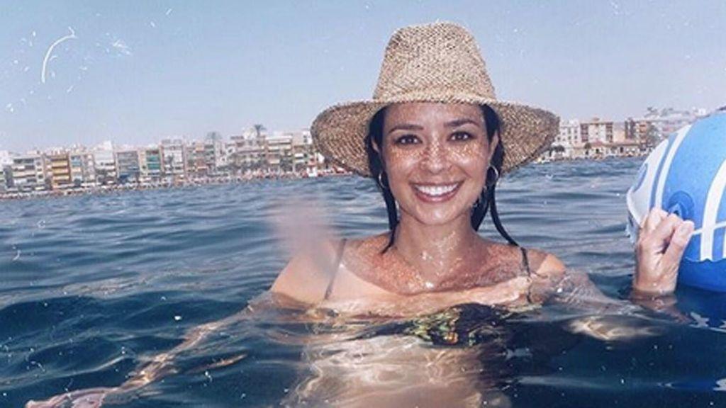 """Dafne Fernández ya es mamá: """"Bienvenido a casa, mi amor"""""""