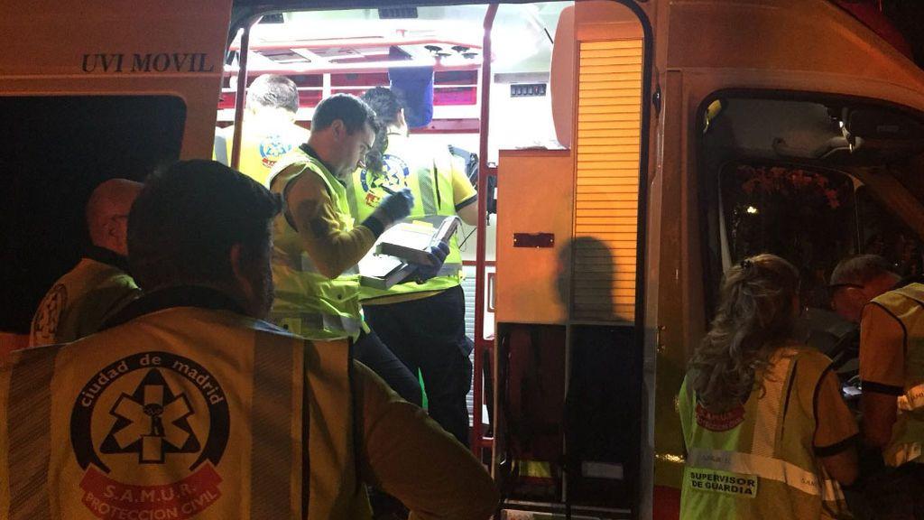 Herido grave un joven tras recibir tres puñaladas en Madrid